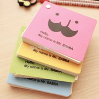 Wholesale rotating square creative lovely notebook writing pad notepad post it note Office School Supplies