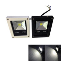 Wholesale IP65 Waterproof W LED Flood Light AC85 V voltage input Cool White CCT with Black White Color Available