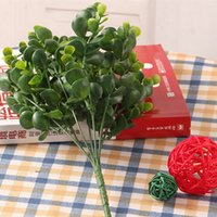 best fake plants - best gift Green Branches Artificial Fake Plastic Silk Eucalyptus Plant artificial eucalyptus flowers fake silk flowers
