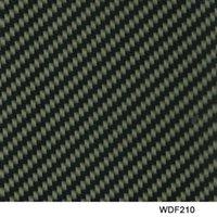 Wholesale WDF210 Decorative Material square Width m water transfer carbon fiber printing transfer film