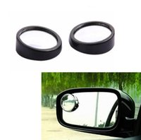 Wholesale New Driver Side Wide Angle Round Convex Car Vehicle Mirror Blind Spot Auto Rear View