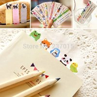 Wholesale Mini Pages Cartoon Sticker Post It Bookmark Marker Memo Tab Flag Sticky Note Random Patterns