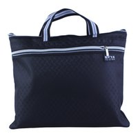 advance knitting - Advanced knitted file bags double layer tote canvas bag Oxford zipper bag briefcase kits handbag File bag