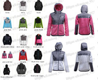 xxl clothes - 2015 New The Women Fleece Apex Bionic SoftShell Jacket Winter Coats Outdoor Sports Clothing Coats S XXL Black Can Mix Lowest Price