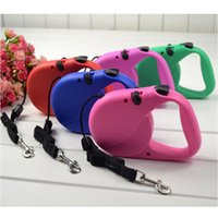 Wholesale 3M M flexible and scalable extension of pet dogs and cats automatically lead Leashes