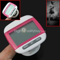 calorie - Electronic Digital Step Pedometer Walking Calorie Counter Distance Run MONITOR