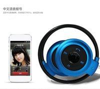 Cheap universal sport racing mini 503 wireless stereo bluetooth wireless headset neckband style headphone earphone for iphone
