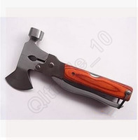 Wholesale 200PCS LLA47 Multi function Outdoor Camping Emergency Survival Tools Pincers Hatchet Axe Hammer Knife Screw Driver Saw