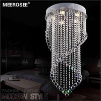 Wholesale Hot Selling Crystal Chandelier Light Fixture Modern Lustre Crystal Curtain Lamp for Ceiling Prompt Shipping Guarantee