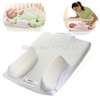 baby pillow - Baby Infant Newborn Anti Roll Pillow Ultimate Sleep Positioner System Prevent Flat Head Cushion
