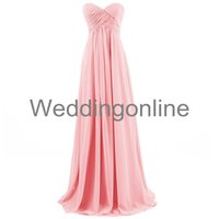 Cheap Bridesmaid Dresses Best Sweetheart Chiffon Party Gown