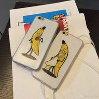 Cheap For Apple Iphone 5 5s 6 6plus wacky banana tpu cell phone cases free shipping 2015