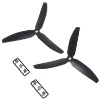aircraft blade - 50PCS Pair Blades Direct Drive Propellers for RC Airplane Aircraft Spare Parts AFD_D19