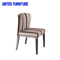 Wholesale U shape suede fabric dining room chair Modern Cheap Colorful Stacking Fabric Dining Chair For Dining Room Furniture