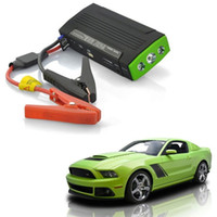 Wholesale Multi function Car Jump StarterHigh Power Capacity Portable Emergency Battery Charger Vehicle Starting Car Power Bank Auto