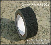Wholesale Freeshipping mm W m L Anti slip Anti slip tape Non skid Non skid tape Adhesive PVC Tape Black A2