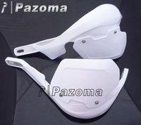 Wholesale White DIRT BIKE Heighten handguard BRUSH HAND GUARDS W quot mm Handlebar KIT PRO TAPER pazoma