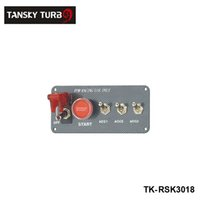Wholesale Tansky Racing Switch Kit Car Electronics Switch Panels Flip up Start Ignition Accessory For Universal Have In Stock TK RSK3018