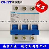 Wholesale MCB Chint breaker miniature circuit breaker DZ47 C10 P A Schneider C65N