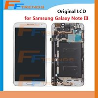 Cheap LCD Screen & Digitizer Assembly with Frame for Samsung Galaxy Note 3 III N900 N900R4 N900T N900P N900V N9006 N900A N9005