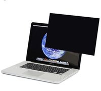 Wholesale New Computer Laptop clear Anti Spy Privacy Screen Protector inch Guard Film with Card paper