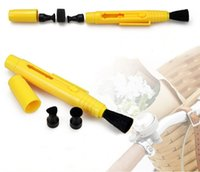 Wholesale Dual Lens cleaning pen for digital SLR cameras and large caliber digital camera