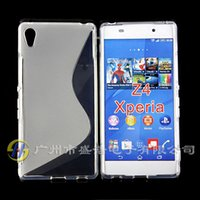 cover For Sony Xperia Z2 - S Line S Line Wave Soft TPU Gel Skin Case Cover for Sony Xperia Z1 Z2 Z3 Z4 ultra Compact Mini E3 T3 M4 US