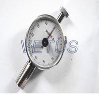 Wholesale rubber hardness tester LX D single needle Dial value HD measure for hardened resin acryl Plexiglas thermos plastic rubber