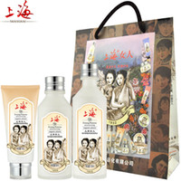 Wholesale Moisturizing Hydrating three piece skin care set include facial cleanser toner Essence Milk Chinese brand makeup