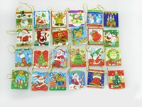 Wholesale New Hot Greeting cards Xmas card Creative Christmas greeting card Christmas cards Wishing cards