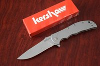 Wholesale Kershaw SS Stainless Steel Tactical Speed Bump Tactical Folding knife Hunting Camping Outdoor Survival knives Drop shipping