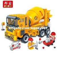 Cheap Plastic Model Kit Best Construction Cement Mixer Car