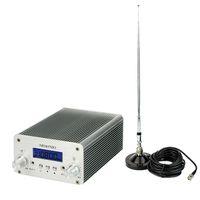 fm radio broadcast transmitter - 5W W PLL FM Transmitter Mini Radio Stereo Station Bluetooth Wireless Broadcast Power Antenna Y4338D