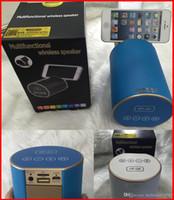 Nouveau HF-Q9 Haut-parleurs sans fil Bluetooth Mini Haut-parleur portable Support Radio FM TF USB Carte pour Smart Phone Stand Pill Pulse Rugby Speaker