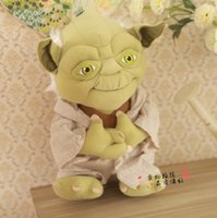 Wholesale 30pcs China Best Sellers Star Wars Yoda inch cm Plush Toys Cosplay Costume Soft Stuffed Doll Toy The Children s Gift High Quality