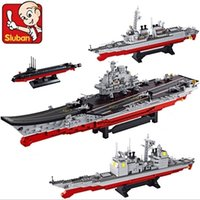 aircraft carrier planes - FG1511 Sluban building blocks Aircraft carrier Antisubmarine helicopters Stealth aircrafts fighter planes patrol yachts