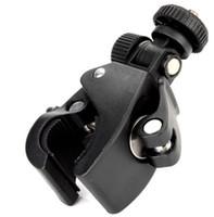 achat en gros de tête pour la caméra-Vélos Bike Moto Guidon Mont trépied pour appareil photo vidéo numérique de 360 degrés tête pivotante livraison gratuite