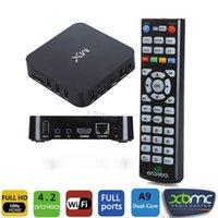 Wholesale zOriginal MX Smart Android TV Box Mini PC Dual Core Set Top Box XBMC Fully Loaded P HDMI Wifi GB GB Multi Language New
