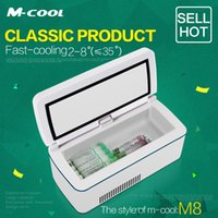 Wholesale M cool insulin cold box portable fridge small refrigerator model of M8