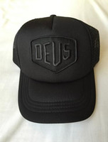 trucker hats - 2016 Deus Ex Machina Baylands Trucker Cap Blue Red or black MOTORCYCLES hat HOTLINEBLING Strapback cap palace hat god ovo cap cheap