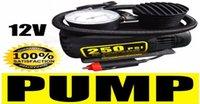Barato Air compressor-Portátil 12V 250PSI Bomba Elétrica Compressor de ar pneu insuflação para motocicletas / Electromobile / Canoagem CEC_010