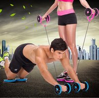 Wholesale Multipurpose Abdominal Muscle Trainer Body Building Ab Roller Fitness Exercise Training Equipment