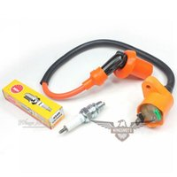 Wholesale Racing Performance Ignition Coil NGK Spark Plug GY6 cc cc Moped Scooter QMB QMJ