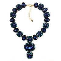 Pendant Necklaces Mexican Women's B2104 NEW 2014 Z design Unique costume necklace chunky chocker high quality necklace for fashion women jewelry wholesale price