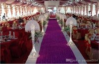 Wholesale HoT Selling Romantic wedding carpet Wedding Favors D Rose Petal Aisle Runner For Wedding Party Decorations Supplies Shooting Prop