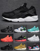 Wholesale 2015 New Cheap Air Huarache Mens Womens Running Shoes Fashion Sneakers Trainer Athletics Shoes Eur