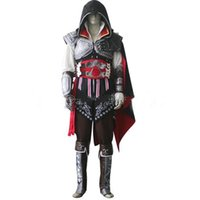 assassin play - 2016 New fashion chirstmas gift clothing for Role play custom made assassins creed unity cosplay costume Ezio Anime costume