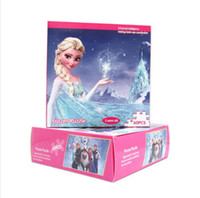 Wholesale 3D Cartoon Frozen Elsa Anna olaf Magnetic Paper Doll board puzzle jigsaw cartoon christmas gift for children kids child DHL Free hot