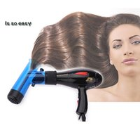 Wholesale Hair Dryer Diffuser Hair Diffuser Curl Hood DIY Magic Roll of Duct Curling Iron Hair Styling Tools H3807