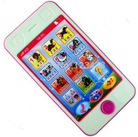 Wholesale Kids Girl Russian Language ABC Alphabet Math Animal Sound Early Learning Education Machines Phone Toys